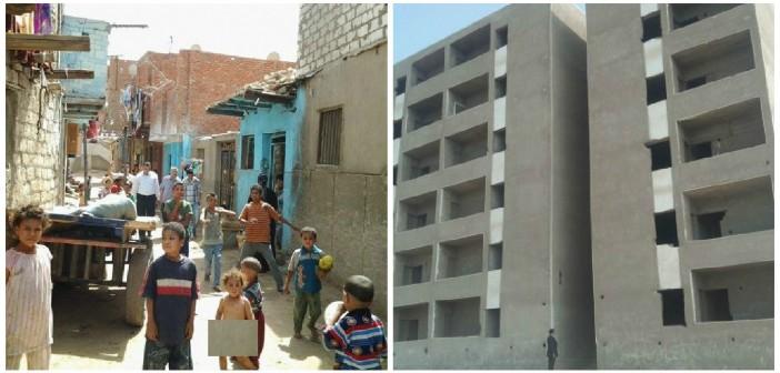 بالصور.. «دونت ميكس».. عمارات بلا سكان في أسيوط .. و200 أسرة دون مأوى 📷