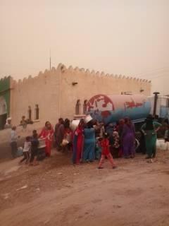 انقطاع المياه عن قرى خط السلام ـ سيدي غازي بالبحيرة