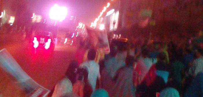 📷 📹 مسيرة للإخوان في شبرا.. واختفاءها بعد ترديد مواطن كلمة «حكومة» (صور وفيديو)
