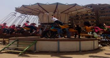 عيد الفطر فى ملاهي نادي الكابلات بشبرا الخيمة