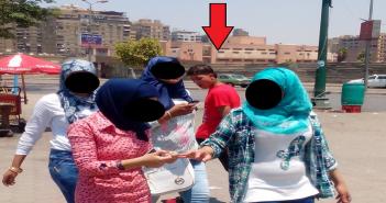 تحرش على كورنيش النيل في حضور الشرطة