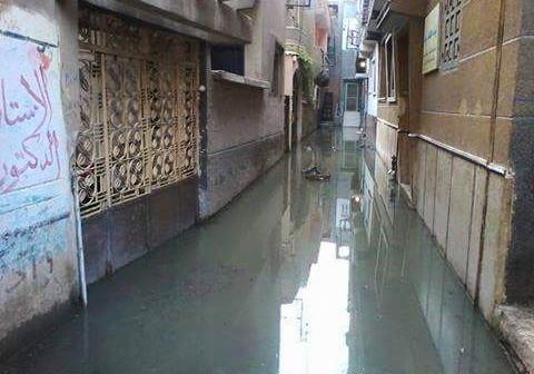بالصور.. مياه الصرف تحاصر بيوت «كرديدة» بالشرقية.. وتغرق شوارع القرية 📷