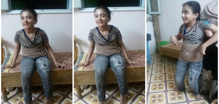 الطفلة «رحمة».. جراحة خارج مصر قد تعيدها للمشي من جديد (صور وفيديو)