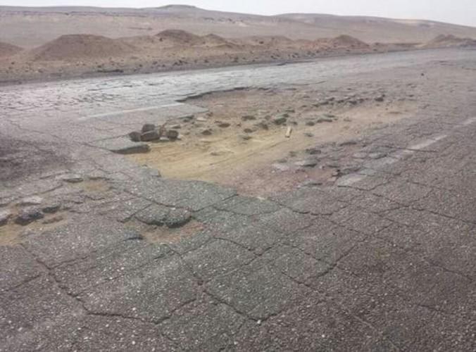 الطريق الغربي الصحراوي اسوان -  القاهالقاهرة