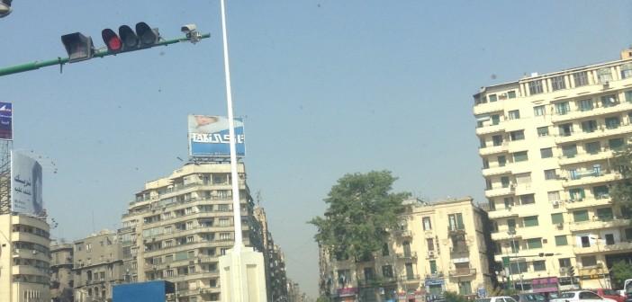 صورة.. اختفاء علم ميدان التحرير وبقاء الساري (تحديث) 📷