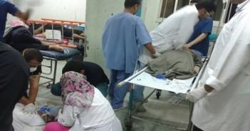 إهمال بمستشفى التأمين الصحي بمدينة نصر
