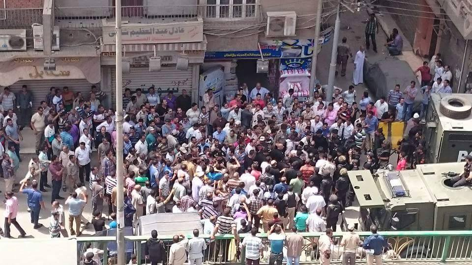 اشتباكات بين قوات تأمين مديرية أمن الشرقية وأمناء الشرطة
