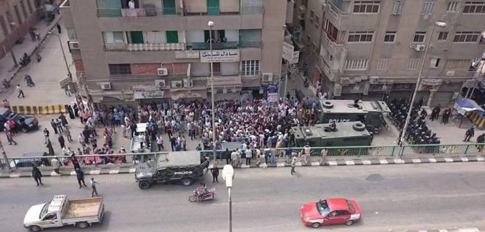 🔴  بالصور.. «خناقة ميري» في مديرية أمن الشرقية بقنابل الغاز والصوت 📷