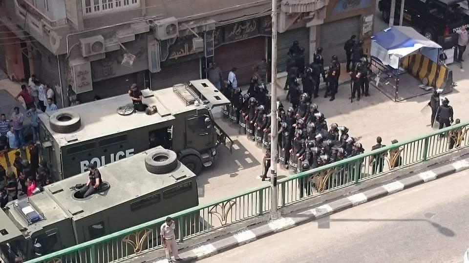 اشتباكات بين قوات تأمين مديرية أمن الشرقية وأمناء الشرطة4