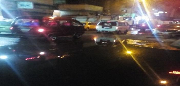 بالصور.. المجاري تضرب أكبر سوق تجاري بالإسكندرية 📷