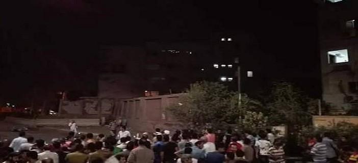 بالفيديو.. معاينة السيارة المفخخة المتسببة في تفجير مبنى الأمن الوطني بشبرا الخيمة 📹