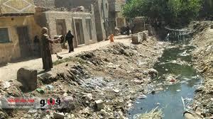 قرية بالمنيا تسبح في مياه الصرف.. و«الضغط العالي» يهدد حياة المواطنين