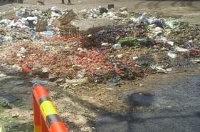 رصف شوارع حي ثان المحلة بطريقة خاطئة