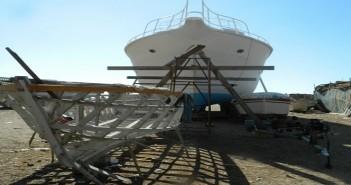 صناعة السفن في الإسكندرية تتداعى