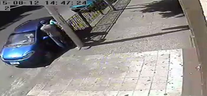 كاميرا مراقبة.. سرقة متعلقات سيارة في شبرا نهارًا.. ومواطن: الشرطة ترفض مشاهدة الفيديو
