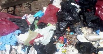 بالصور.. قنابل ملوثة.. النفايات الطبية الخطرة في شوارع طنطا