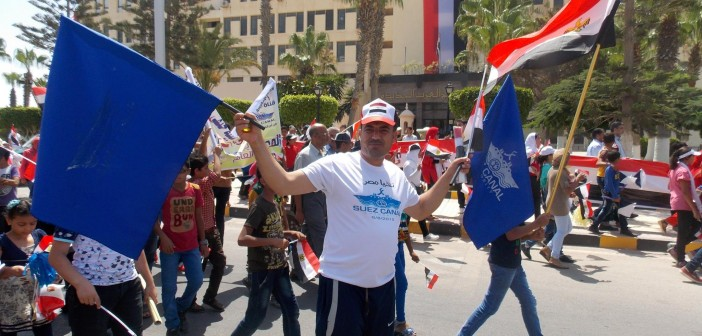 📷 فرحة أهالي برج العرب بافتتاح قناة السويس2