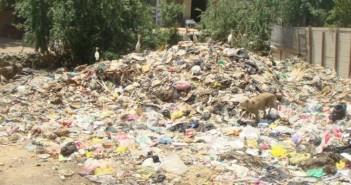 انتشار القمامة في أبو زعبل