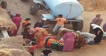 تواصل انقطاع المياه في قرية الشربيني بالدقهلية