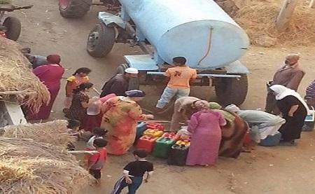 غياب المياه عن «حنورة» بالشرقية.. ومواطن: «ليس لدينا كوب ماء»