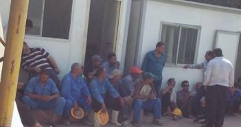 إضراب عمال مشروع محور ورض الفرج بسبب «الظلم في المرتبات»