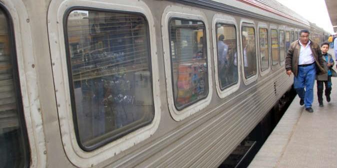 هكذا كان حال قطار الصعيد «الفاخر» بعد 20 يومًا من انطلاقه 📷 ▶