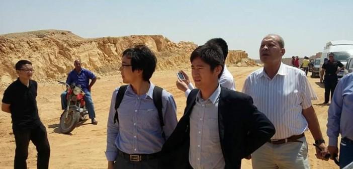 بالصور.. وفد صيني يزور مدينة بدر لمعاينة موقع إنشاء القطار الكهربي السريع 📷
