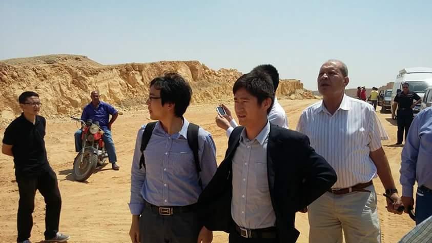 وفد صيني يزور مدينة بدر لمعاينة موقع إنشاء القطار الكهربي السريع