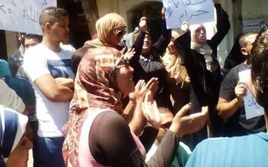 بالصور.. تظاهر طلاب التعليم المفتوح لجامعة القاهرة ضد رفع أسعار «المواد البيني»
