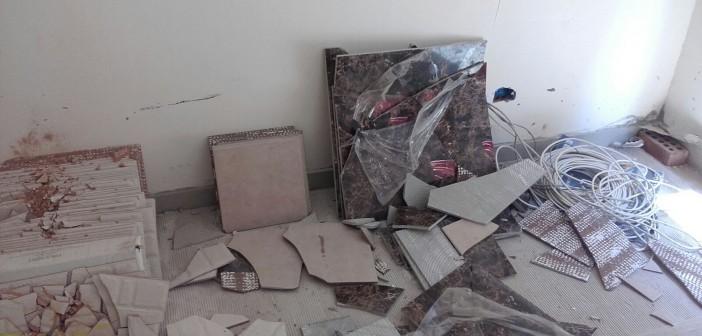 مواطن يتهم موظفي حي شرق مدينة نصر بتدمير شقته الجديدة 📷