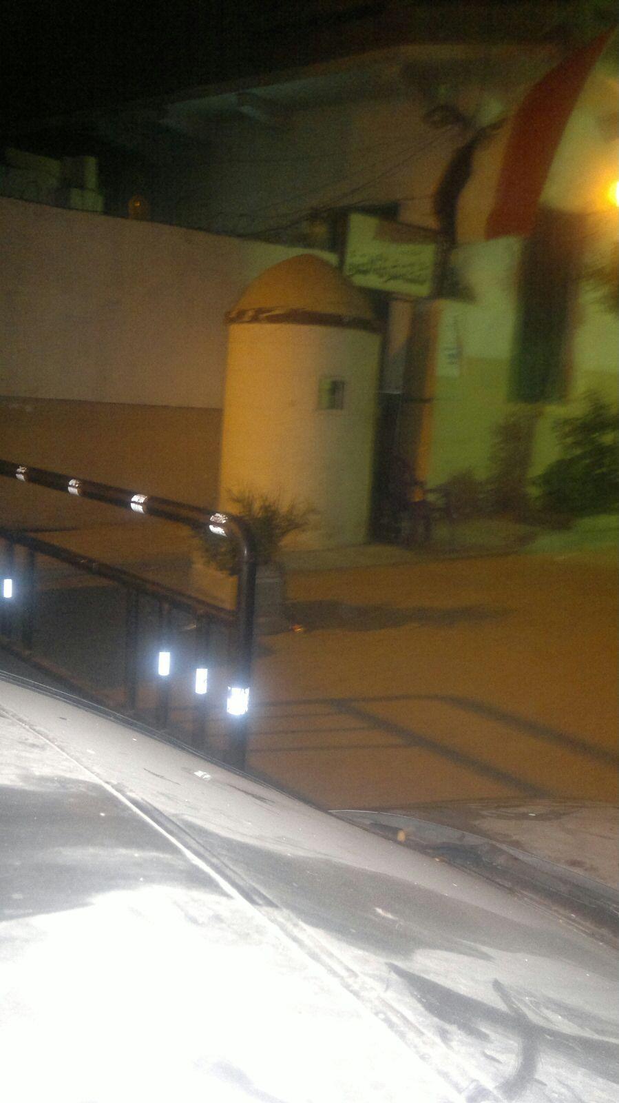 صور.. قطة ودرع وكرسي يحرسون نقطة شرطة الحضرة بالإسكندرية