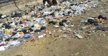 القمامة تجتاح شوارع المرج الجديدة