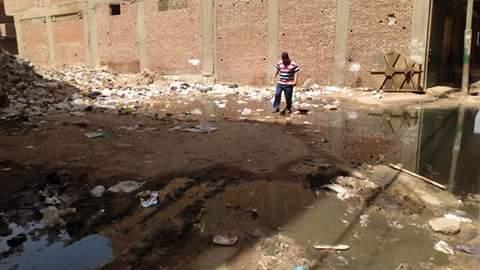 بالصور.. سيارات «الكسح» تفاقم أزمة الصرف الصحي في «ميت نما» بالقليوبية 📷