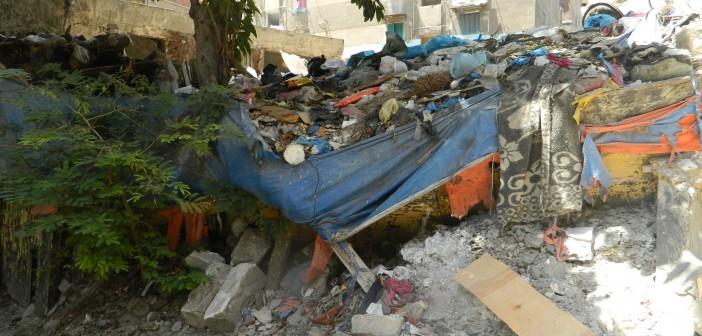 بالصور.. شوارع «زاوية التلاوي» بالإسكندرية مُشبعة بالقمامة.. وتشعل الحرائق طوال 20 عامًا