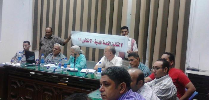 جبهة «تضامن» تدعو إلى لمليونية ضد قانون الخدمة المدنية في 12 سبتمبر