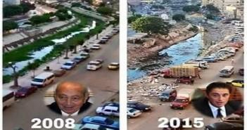 شارع قنال المحمودية بالإسكندرية يتحول إلى مقلب قمامة