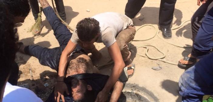 بالصور.. وفاة 3 عمال في بيارة صرف بالقصاصين.. ومواطن: «حاولوا إنقاذ بعضهم فماتوا»