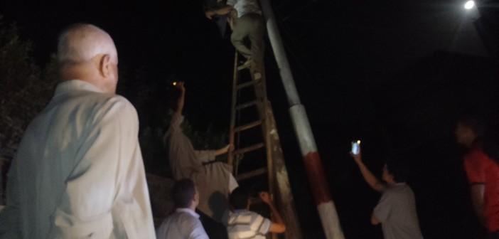 في ليلة العيد.. عمود كهرباء يصعق طفلين في منوف 📷