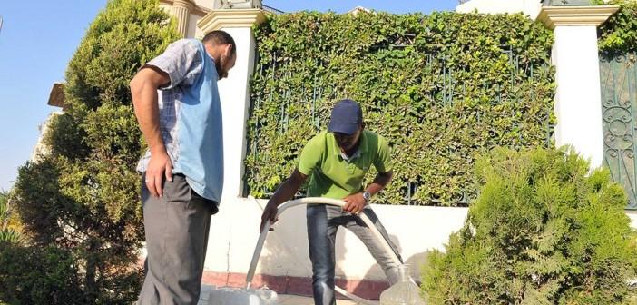 انقطاع المياه في الهرم لليوم الثاني.. ومواطنون يهددون بقطع «الدائري» مرة أخرى