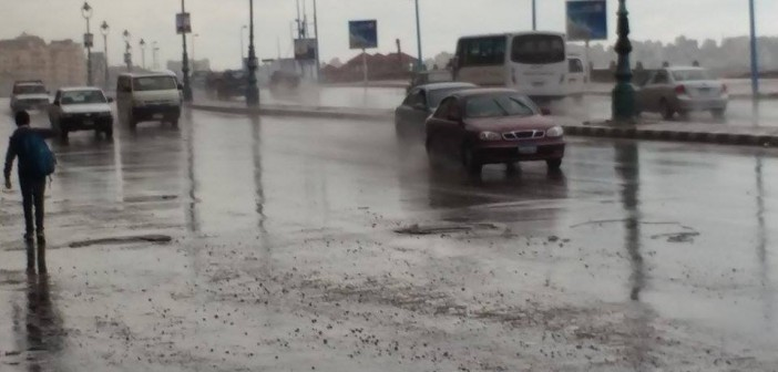 بالصور.. هكذا كان صباح الإسكندرية بعد ليلة من الأمطار الغزيرة 📷