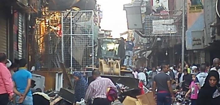 بالفيديو والصور.. لحظة إزالة إشغالات الباعة الجائلين في الموسكي 📷 ▶