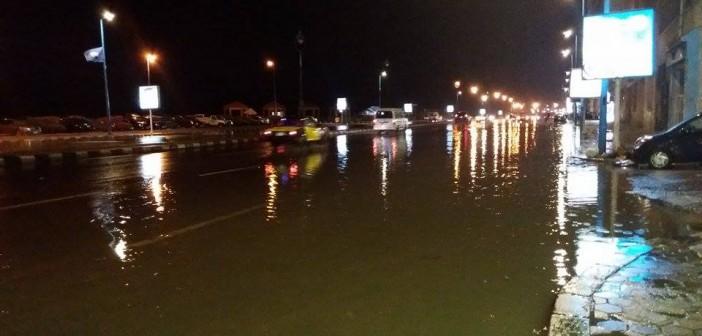 بالصور.. آخر أيام الصيفية.. سقوط أمطار غزيرة في الإسكندرية مصحوبة برعد وبرق 📷