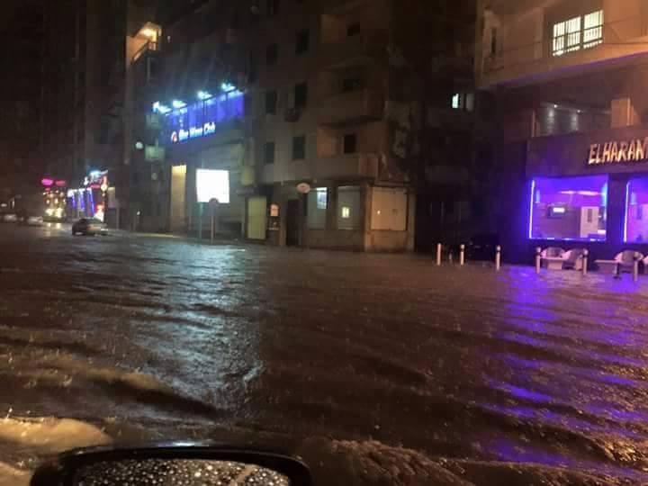 الإسكندرية غرقت في «شبر مية».. وتستقبل الشتاء بأمطار غزيرة
