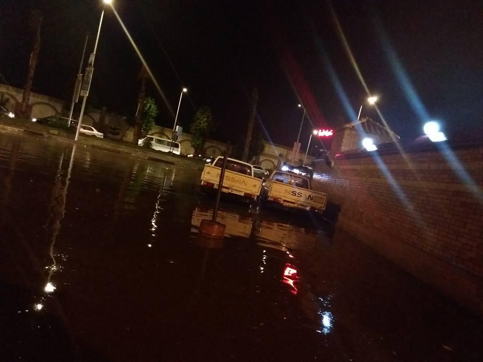 آخر أيام الصيفية.. سقوط أمطار غزيرة في الإسكندرية مصحوبة برعد وبرق