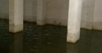 غرق جراج منتجع بشاطىء النخيل في الإسكندرية