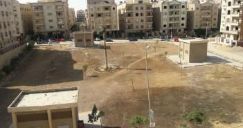 بالصور.. الإهمال يحول حديقة إلى صحراء جرداء بالقاهرة الجديدة
