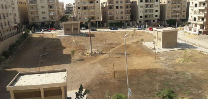 بالصور.. الإهمال يحول حديقة إلى صحراء جرداء بالقاهرة الجديدة 📷