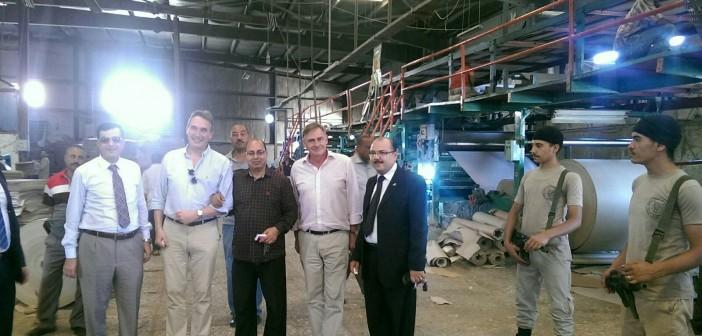 سفيرا هولندا وبلجيكا في زيارة إلى المنطقة الصناعية بسوهاج 📷