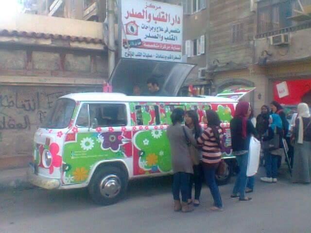 صور.. «الشيف الطائر» بالألوان الزاهية.. أول مطعم متحرك بالطاقة الشمسية بالإسكندرية