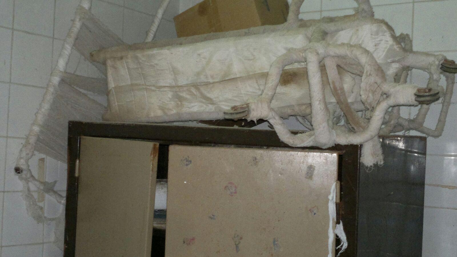 بالصور.. مشاهد الإهمال هذه تأتيكم برعاية مستشفى دسوق العام بكفر الشيخ